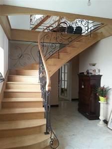 Escalier Metal Et Bois : escaliers ~ Dailycaller-alerts.com Idées de Décoration