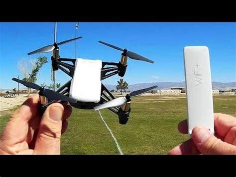 dji ryze tello  xiaomi mi repeater range extender flight test review youtube
