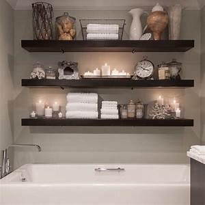 20, Modern, Bathroom, Floating, Shelves, Design, Ideas, For, You