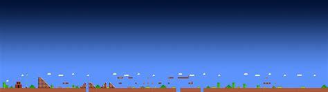 Super Mario, Video Games, Arcade, Pixels, Triple Screen