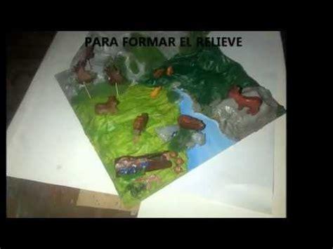 maquetas escolares como hacer maquetas ecosistemas flora y fauna