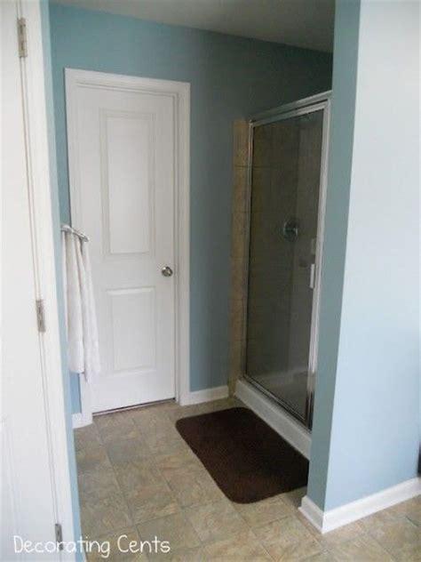 behr harmonious spa blue bathroom paint color for the