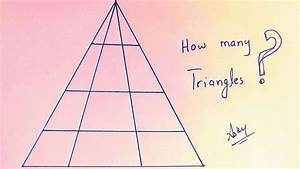 Can You Figure Out How Many Triangles Are In This Picture