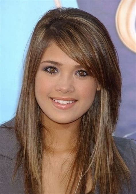 long straight hairstyles with side bangs hairstyle for