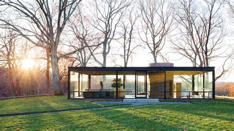 Glass House Johnson by House Tour The Glass House Nytimes