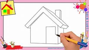Dessin Maison 3 Comment Dessiner Une Maison FACILEMENT