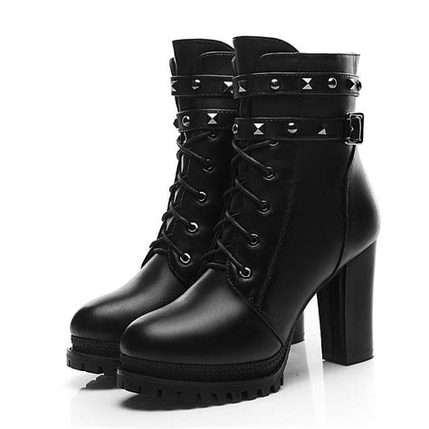 cheap womens motorcycle boots cheap womens buckle boots martin boots for women military