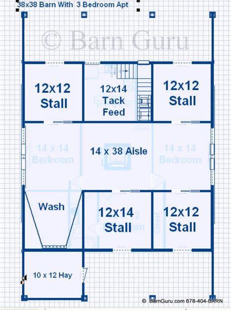 barn with living quarters floor plan joy studio design