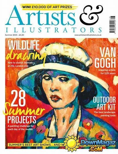 Artist Illustrators Summer Magazine Magazines Pdf Graphics