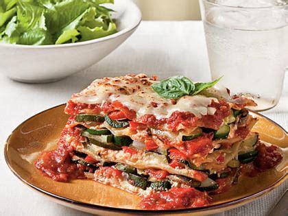 fresh vegetable lasagna recipe myrecipes