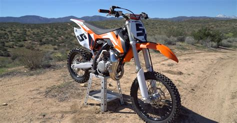 best 85cc motocross bike 2016 ktm 85 sx review dirt rider 85cc mx shootout