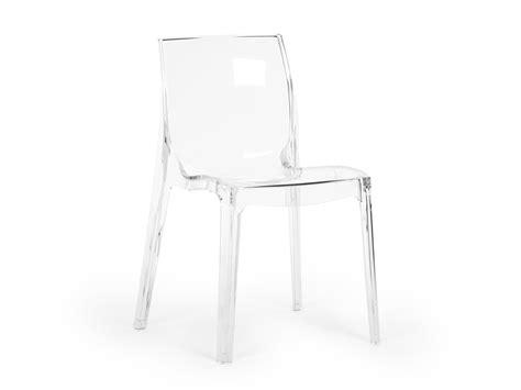 Chaise En Polycarbonate  Maison Design Wibliacom