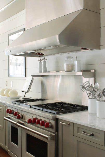 white plank backsplash cottage kitchen benjamin