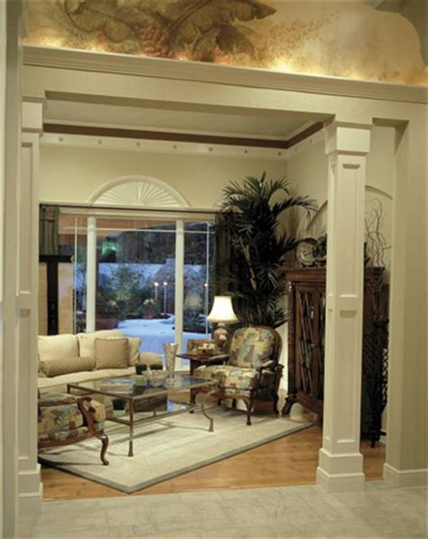 Decorative Molding by Stylish Columns Amp Millwork The House Designers