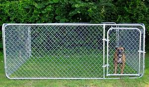 chain link dog kennels is best for outdoor dog kennels With best dog kennel for outside