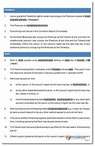 capital lease agreement template 28 images 15 property With capital lease template