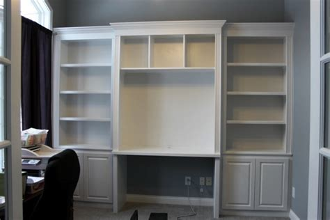 office desk with bookcase and shelving bookcases and built in desks on pinterest bookcases