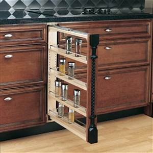 3 inch base cabinet filler: Shelves That Slide