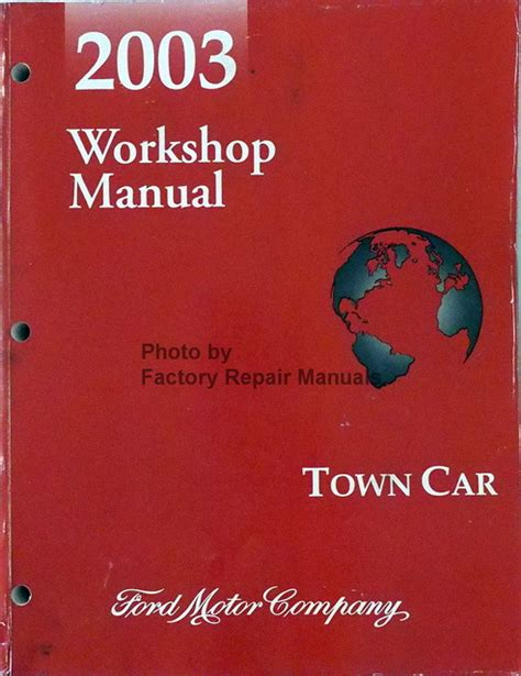 free auto repair manuals 1986 lincoln town car windshield wipe control 2003 lincoln town car factory service manual original shop repair factory repair manuals