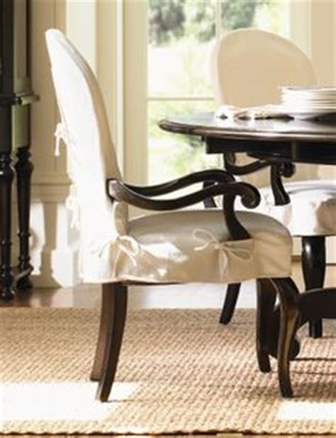 slipcovers for armed dining room chairs 1000 images about dining chairs on slipcovers