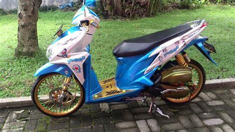 Foto Vario 125 Thailook by Foto Modifikasi Motor Vario Techno 125 Terkeren Dan