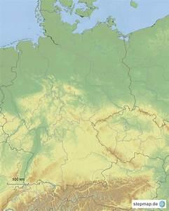Deutschland Physische Karte : physische karte deutschlands von jomich landkarte f r deutschland ~ Watch28wear.com Haus und Dekorationen