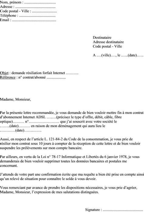 modele de lettre préavis 1 mois modele preavis bail 1 mois rsa document