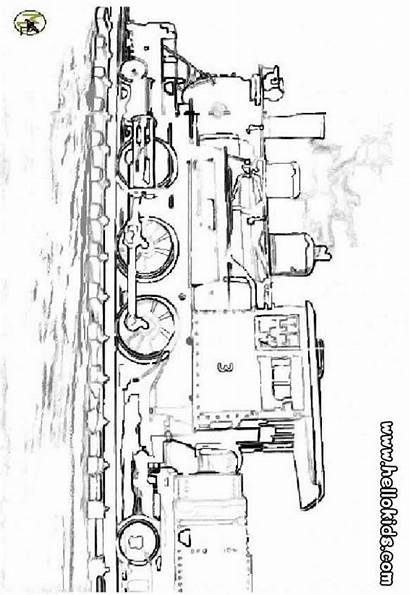 Steam Coloring Train Pages Engine Locomotive Subway