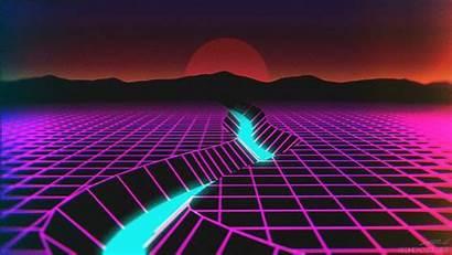 Vaporwave Desktop Backgrounds Night 80s Retro Neon
