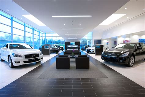 Infiniti Takes Control Of Uk Showrooms