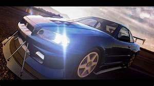 car, Nissan, The Crew, Blue Cars, Nissan Skyline GT R R34