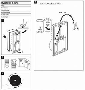 Wireless Doorbell Diagram  U0026 Page 2 Of Rpwl4045a Doorbell