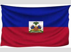 Haiti Wrinkled Flag Gallery Yopriceville HighQuality