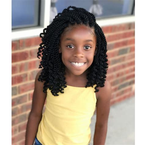 Image may contain: 1 person Black kids hairstyles Girls
