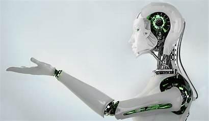 Intelligence Artificial Tech Robot Technology Background Hi