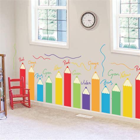 kindergarten environment layout material cartoon colorful