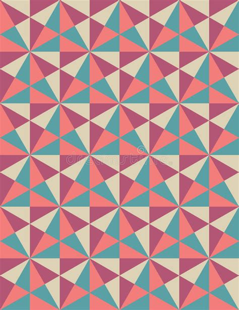 Abstract Pattern Background Pink Colors Vector Stock Vector Modern Seamless Colorful Geometry Pattern Mosaic