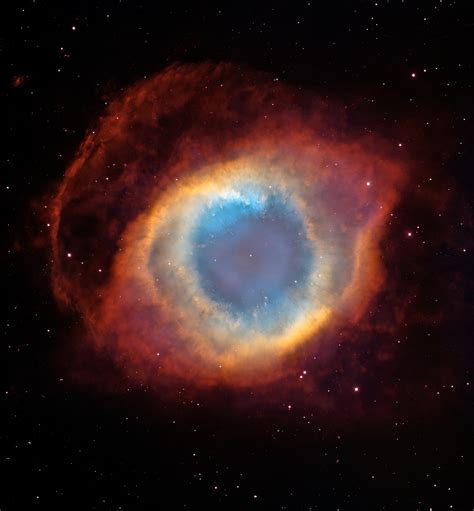 A New View of the Helix Nebula | ESA/Hubble