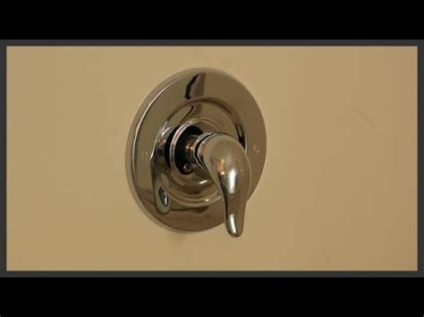 remove  replace  moen shower cartridge youtube