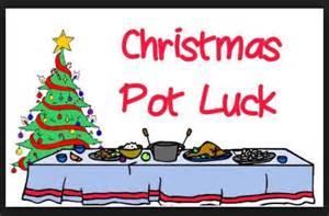 Christmas Potluck Clip Art