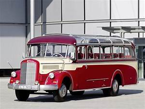 1951 Mercedes Benz O 3500 Kassbohrer Bus Transport Semi