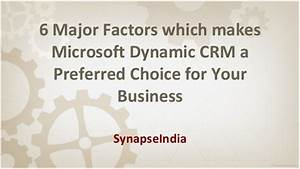 SynapseIndia highlights 6 major factors which makes ...
