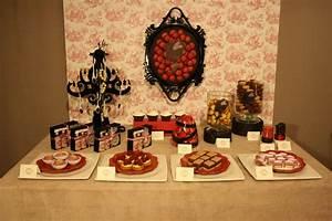 Sweet Table Boudoir, La Première La Sweet Table
