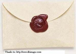 homemade wax seals part 1 With melting wax for letters