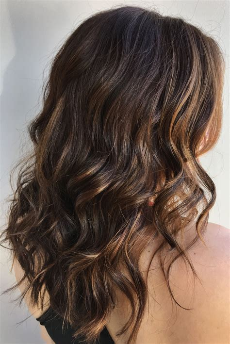 Sun Brown Hair by Chocolate Brown With Highlights Soft Highlight