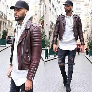 Veste En Cuir Rouge Homme : trouvez votre mod le de veste en cuir homme ~ Melissatoandfro.com Idées de Décoration