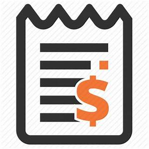 Bill, check, cheque, receipt icon | Icon search engine