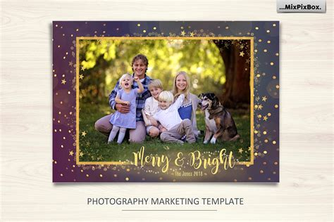christmas card merry  bright christmas card