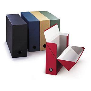 boite de classement bureau boîte de classement toilée fournitures de bureau raja