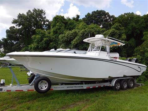 Fountain Boats Center Console by 2009 Fountain 34 Center Console Power Boat For Sale Www